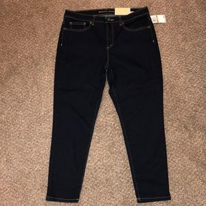 Michael Kors izzy cropped skinny jeans. 12